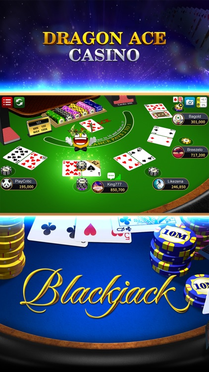Blackjack 21 Dragon Ace Casino