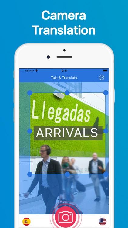 Talk & Translate Translator screenshot-3