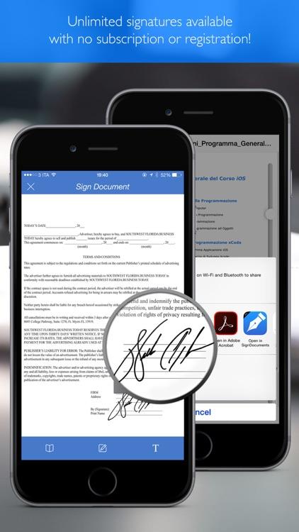 Sign Pdf Documents pro