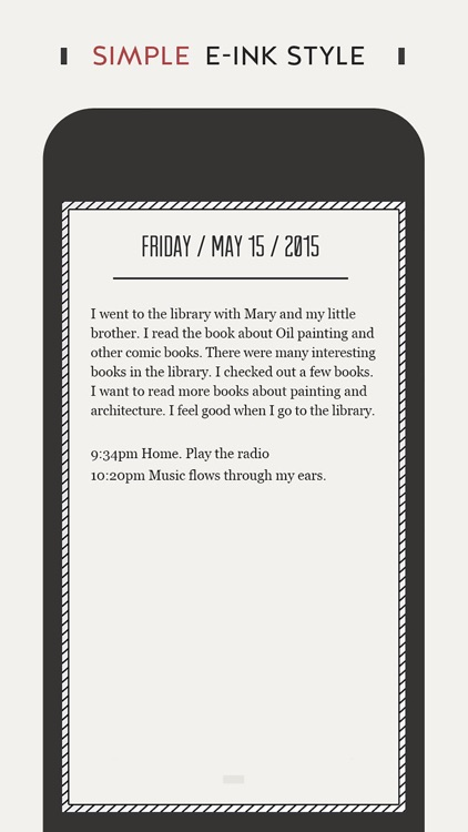 DayGram - One line a day diary