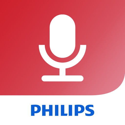 Philips voice recorder iOS App