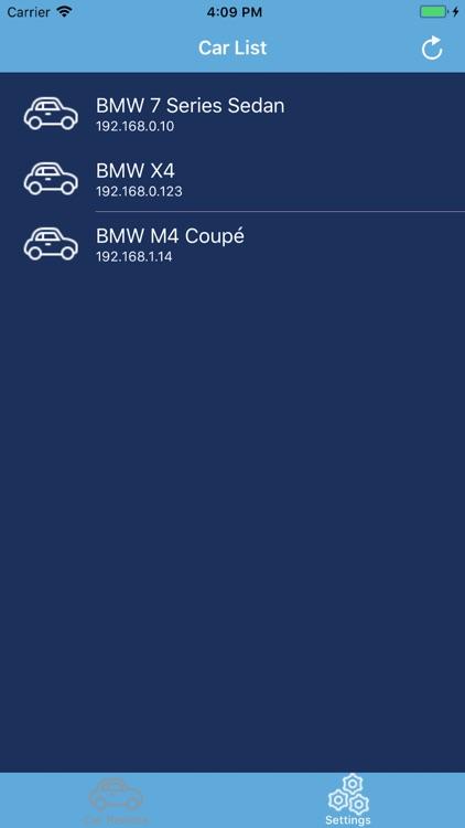 Car Remote OBD Control for BMW
