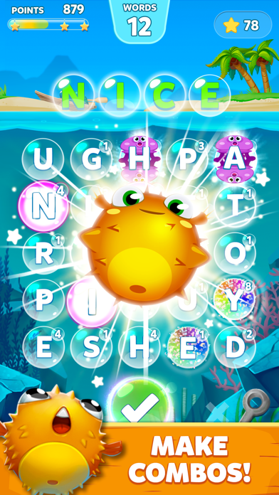Bubble Words: Word Puzzle 2020 free Gold hack
