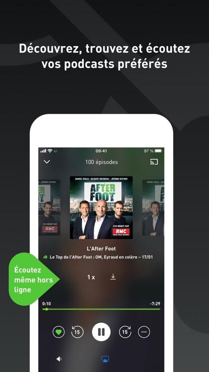 radio.fr - radio et podcast screenshot-4