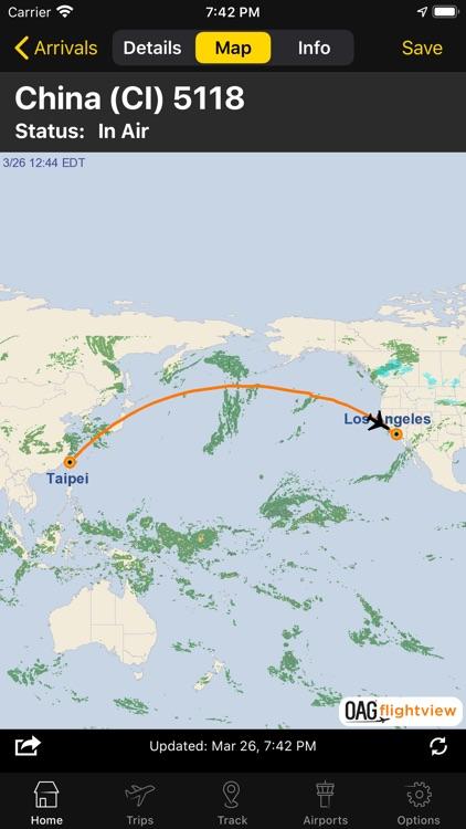 Flightview - Flight Tracker screenshot-6