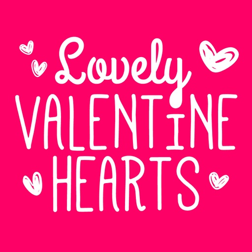 Lovely Valentine Hearts icon