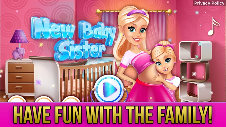 New Baby Sister Makeover Game screenshot-0