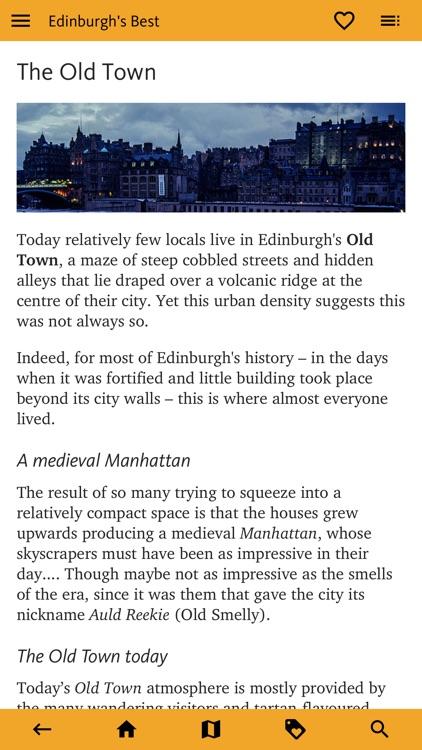 Edinburgh's Best: Travel Guide screenshot-6