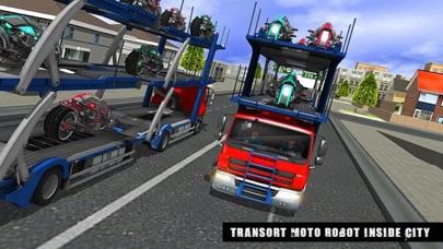 Robot Truck: Bike Transformersのおすすめ画像4