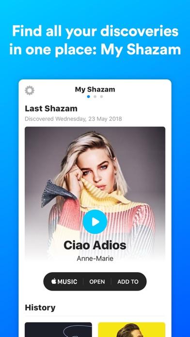 Shazam: Free Music Discovery screenshot three