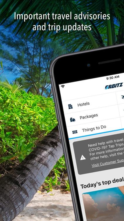 Orbitz Hotels & Flights screenshot-0