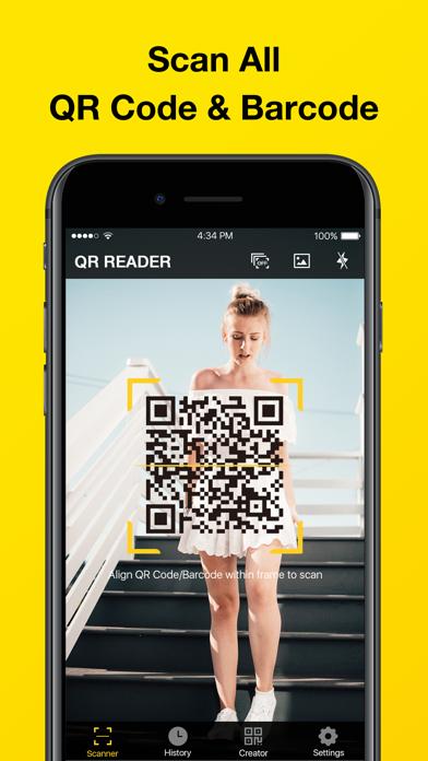 QR Code Reader & QR Scanner Screenshot