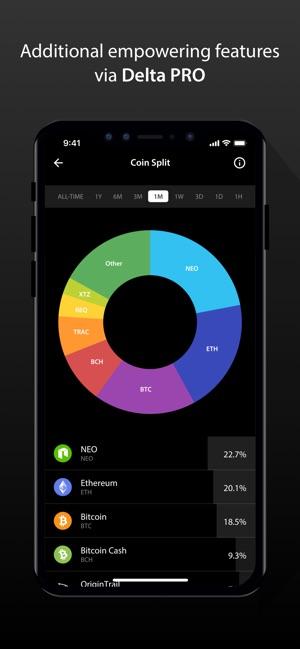 Delta Crypto Portfolio Tracker on the App Store