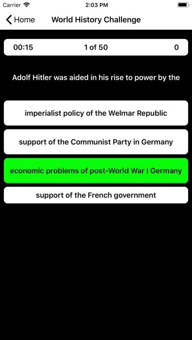 World History Buddy 2019 screenshot two