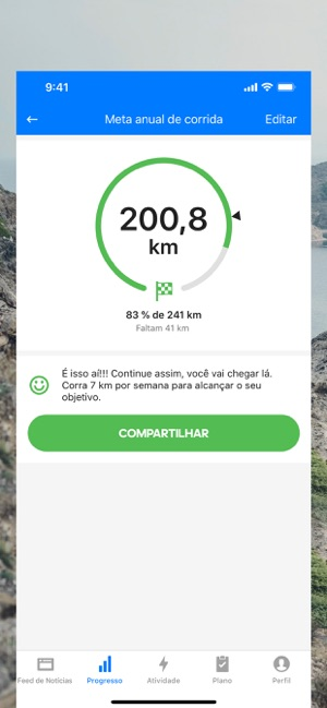 Runtastic PRO Correr Caminhar Screenshot
