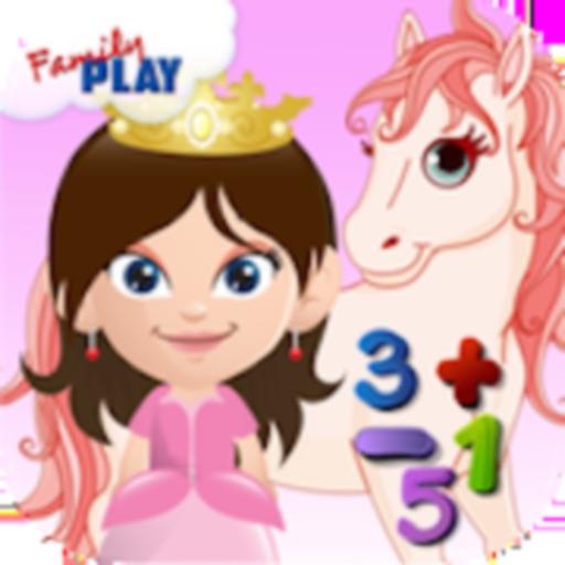 Princess Learns Math for Kids