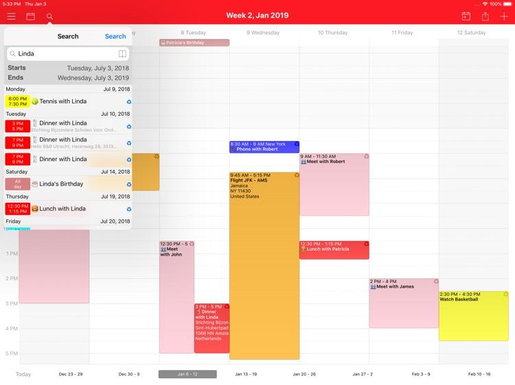 WeekCal iPad - Fully Unlocked screenshot-3