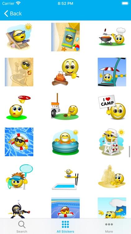 Emojis 3D - Animated Sticker screenshot-5