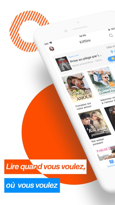 Kifflire: Webnovel Reading App Screenshot
