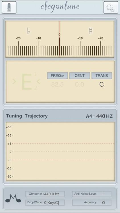 Elegantune Pro Chromatic Tuner