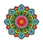 Coloring Art Mandala