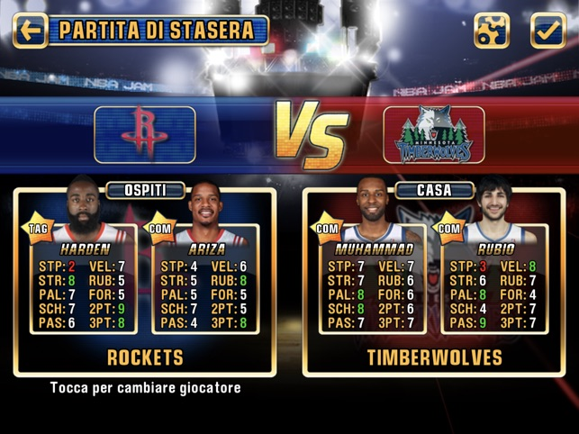 NBA JAM by EA SPORTS™ for iPad su App Store b4d0e28f21f3