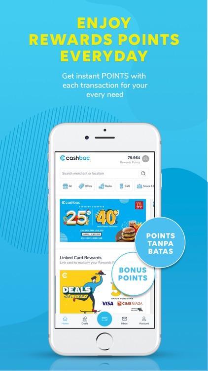 Cashbac - Instant Rewards App
