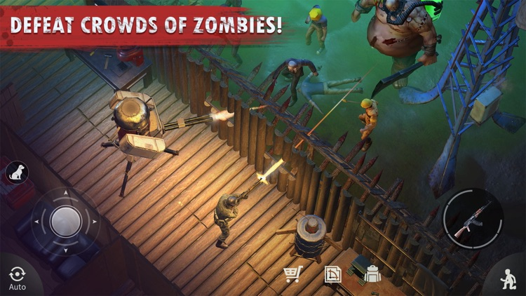 Survival: Wasteland Zombie screenshot-4