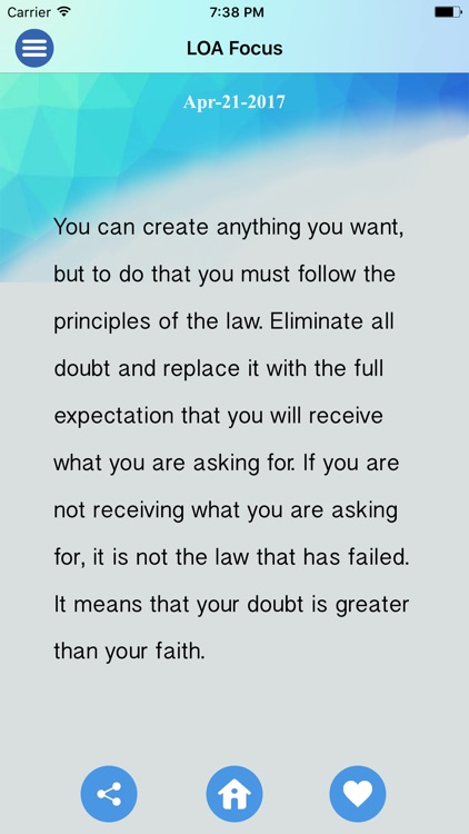 Law of Attraction Focus screenshot-4