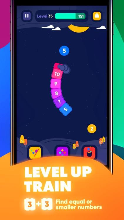 IQ Train -  Number Snake Game screenshot-5