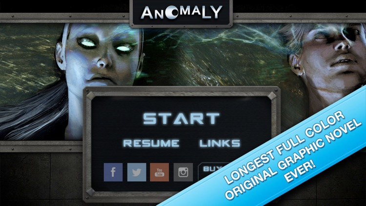 Anomaly: Interactive Comic
