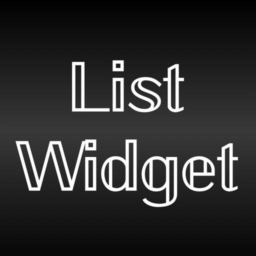 List Widget Maker: ListWidget