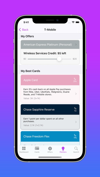 CardPointers for Credit Cards screenshot-6