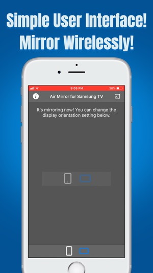 Air Mirror for Samsung TV