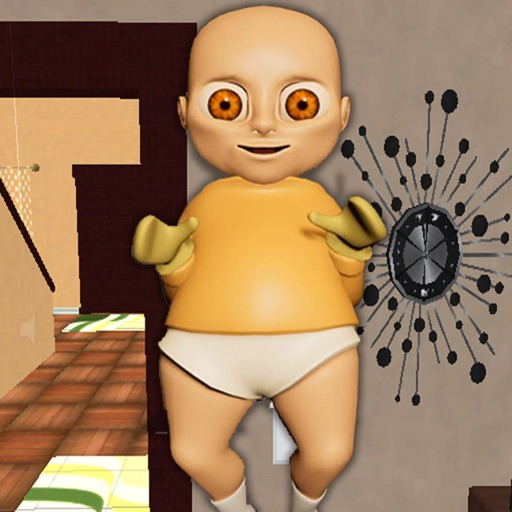 Angry Baby in Yellow Simulator