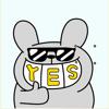 Cool Bunny Animated