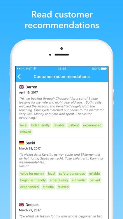 CheckYeti - Ski School Booking screenshot-4