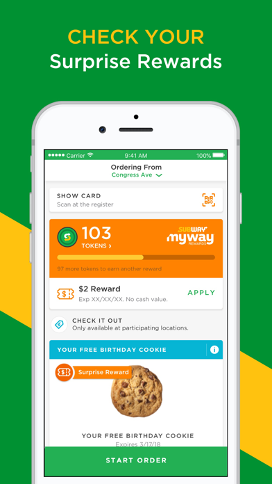 download SUBWAY® apps 5
