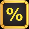 Tip Calculator % Gold - iPhoneアプリ