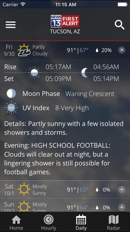 KOLD First Alert Weather screenshot-3