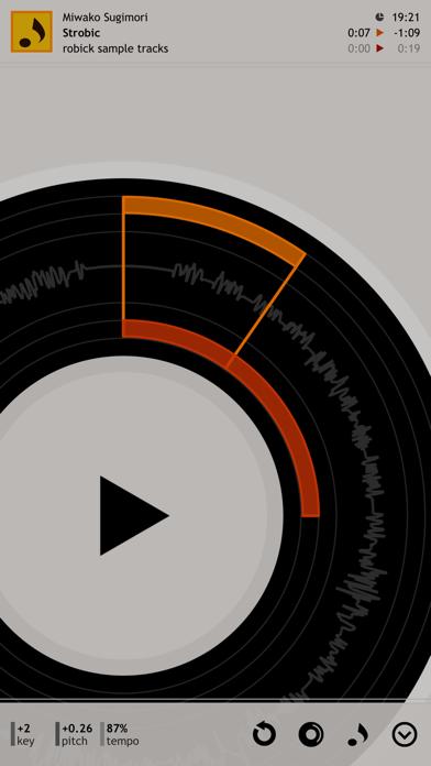 robick Audio Player screenshot two