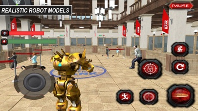 Gangster Robot: Mission Robber screenshot two