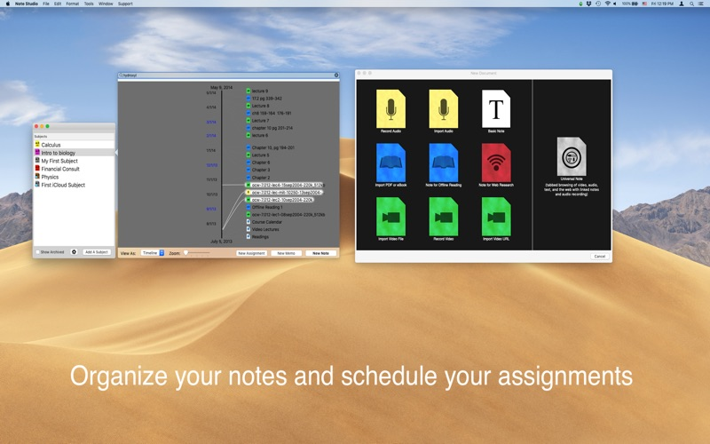 Note Studio for Mac