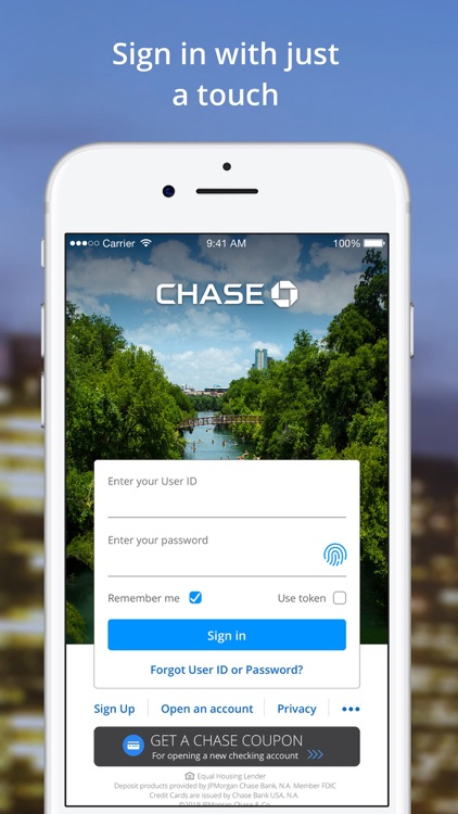 Chase Mobile®: Bank & Invest screenshot-0