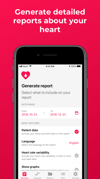 Heart Reports iPhone