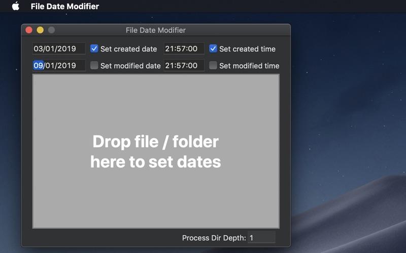 File Date Modifier for Mac