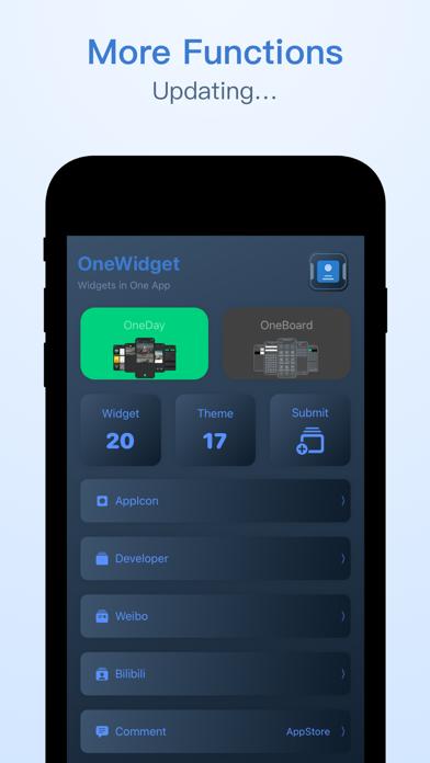 OneWidget - Widgets in One Appのおすすめ画像6