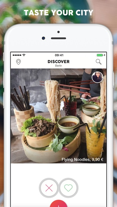 Screenshot for Foodguide - Taste your city! in Germany App Store