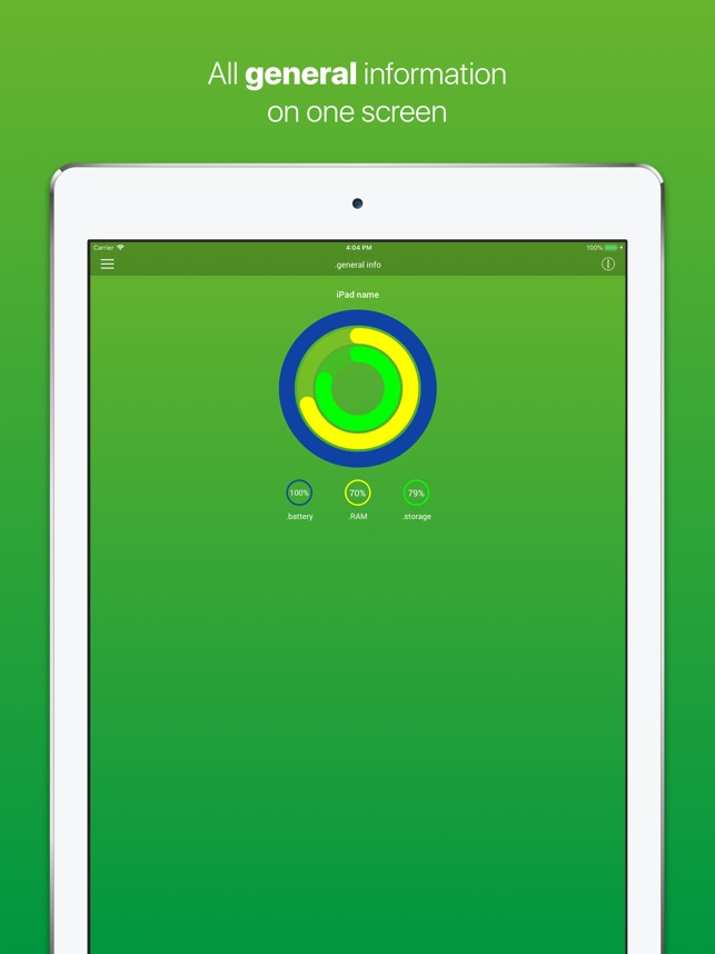 iDevice - Check device Screenshot