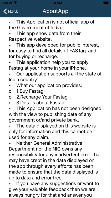 FASTag - Buy & Recharge Info. screenshot-9
